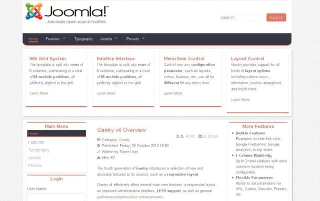 Joomla Business 15