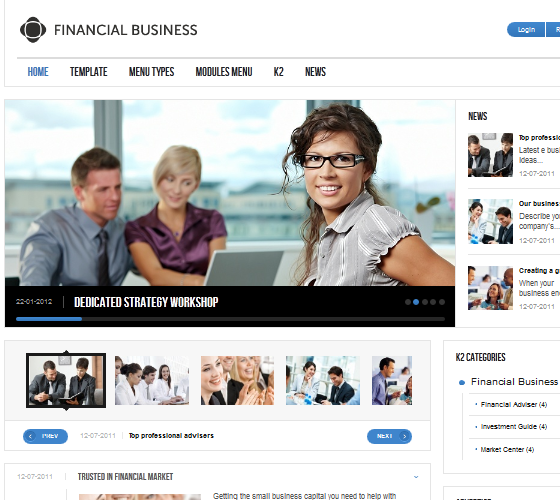 GK Financial Business