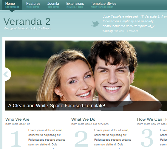 IT Veranda 2 шаблон для Joomla 2.5