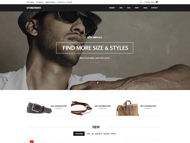 GK Storefront - Шаблон для интернет-магазина на Joomla