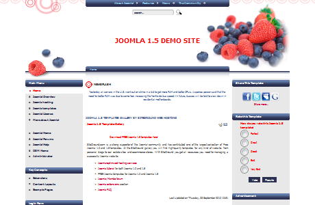 Siteground Wild Berries