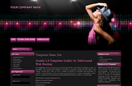 Siteground Flashdance